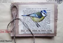 book binding/collage