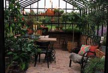 Inspiration orangeri/växthus