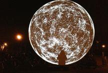 The Sphere / light-art