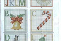Cross Stitch - Alphabet / by Ria Vanbiervliet