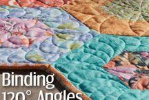 Tutorials - sewing, quilting