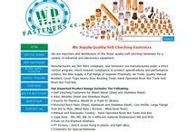 WP FASTENERS Website Design