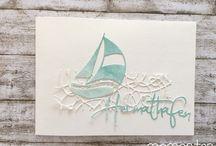 Die Segelboot