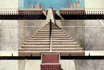 l'architettura 60-70 / italian architecture movement,postwar,futurism,20th century