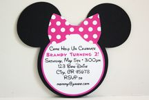 Jaydyns 2nd Birthday / Mini mouse theme / by Ames Well