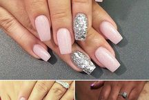Flaunt fancy fingers on your wedding day with these bridal nail art ideas. / Flaunt fancy fingers on your wedding day with these bridal nail art ideas.