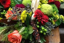 Thanksgiving and Fall Inspiration / A sample of some of the floral work we have done for this holiday season. Enjoy!