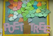 POET TREE / ideas to help with the 2016/2017 Online Project hosted by Projects By Jen -- http://thepoettreeproject.weebly.com/ / by Jennifer Wagner