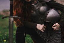 Warrior / Make yourself hard to kill.