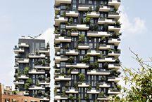 Torres / Ejemplos de torres, edificios en altura...