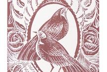 Woodcut - Linocut / Printmaking with woodcut and linocut