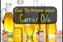 Essential and carrier oils