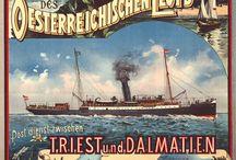 Navigazione / Viaggi in nave, compagnie di navigazione, crociere, traghetti, navi, cruiser, Cunard