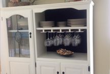 TV cabinet upcycle inspiration