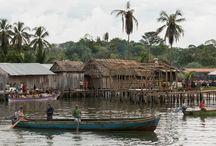 """Niantore / Las languidas aguas del Caribe panameño serán mi zona de acción las próximas semanas. """"Niantore"""" es la traducción de """"Hola, ¿Qué tal?"""" en lengua Gnobe."""