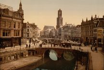 Photochrom prints - Color 1890 -1900 - Holland / Photochrom prints - Color