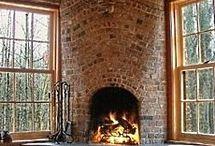 Verdim odunu / fireplace
