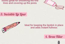 Makeup Infographics