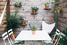 At Home: Outdoor Living / Home decor ideas for the backyard, the front porch, the back patio and all of your outdoor living spaces!