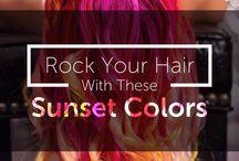Sunset Hair Inspiration