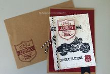 SU Motorcycle Stamps
