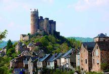 Plus Beaux Villages de France en Aveyron