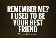 Lost friendship
