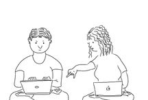 Web geek cartoons