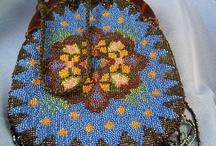Knitting beadbags