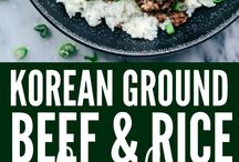 Ground turkey/beef recipes