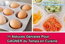 Astuces et conseils cuisine