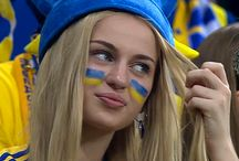Ukraine Fans Girls