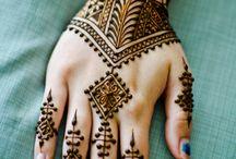 marokkói henna