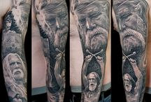 My Best Black and Grey Portrait Tattoos / Want to get a black and grey portrait tattoo? Here, a collection of the best black and grey portrait tattoos I tattooed.  When it comes to getting a portrait tattoo, for example of your grandma, you want it to look like in the picture. You don't want to get a portrait of someone else, right? In order to get that, you need a great tattoo artist with an outstanding portrait tattoos portfolio. Checking the tattoo artist experience on portraits is essential before you take the step.