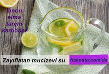 sağlıklı içecekler