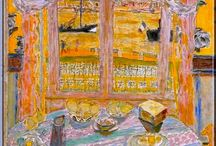 Painter Pierre Bonnard / Pierre Bonnard was a French painter and printmaker, as well as a founding member of the Post-Impressionist group of avant-garde painters Les Nabis.