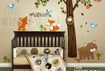 Kid's Room Decor/ Organization Tips / Decorating ideas that will create a comforting and joyful place for our children.