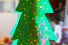 Navidad / Manualidades y recursos para hacer con los peques en Navidad http://descubriendopequemundos.blogspot.com.es/search/label/Navidad