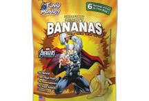 Our Marvel Line!  / Our new Marvel line!  Superheroes unite with healthy snacks.