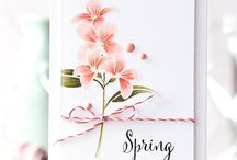 Craft - Flowers / Cards with flowers, florals and buds they are all here!