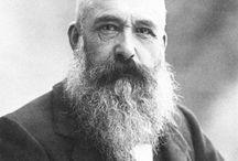 Клод Моне (Claude Monet) 1840-1926 / Один из основателей и ведущих художников периода импрессионизма.  http://www.hudojnik-impressionist.ru/mone.htm