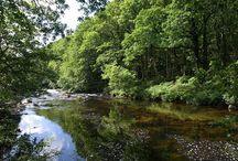 Rivers in Devon, UK