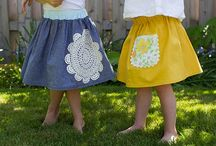Girl Skirts / by SewSet