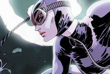Catwoman / Selina Kyle has led many lives as the feline fatale Catwoman—but one thing remains the same: Whenever this cat crosses your path, she's equally likely to steal your heart as well as your wallet. / by DC Comics