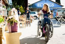 #TheBatecs A new edition of the most feminine attachable handbike: the BATEC ELECTRIC PURPLE EDITION
