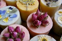 Artisan Soaps / I love beautiful soaps, and some of them are real works of art!