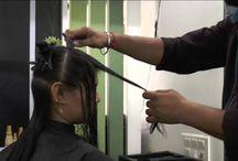 haircut  by uttam parekh