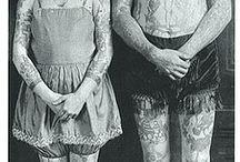 Damas tatuadas