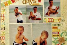 Scrapbook Ideas / Ideas for page layouts