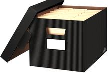 Decorative Organization Products / Stylish storage solutions for your home or office.